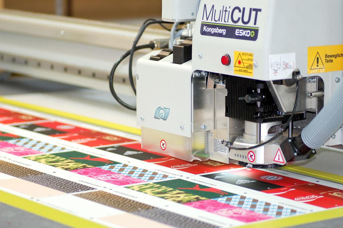 Digitaldruck Produkte Fräsen