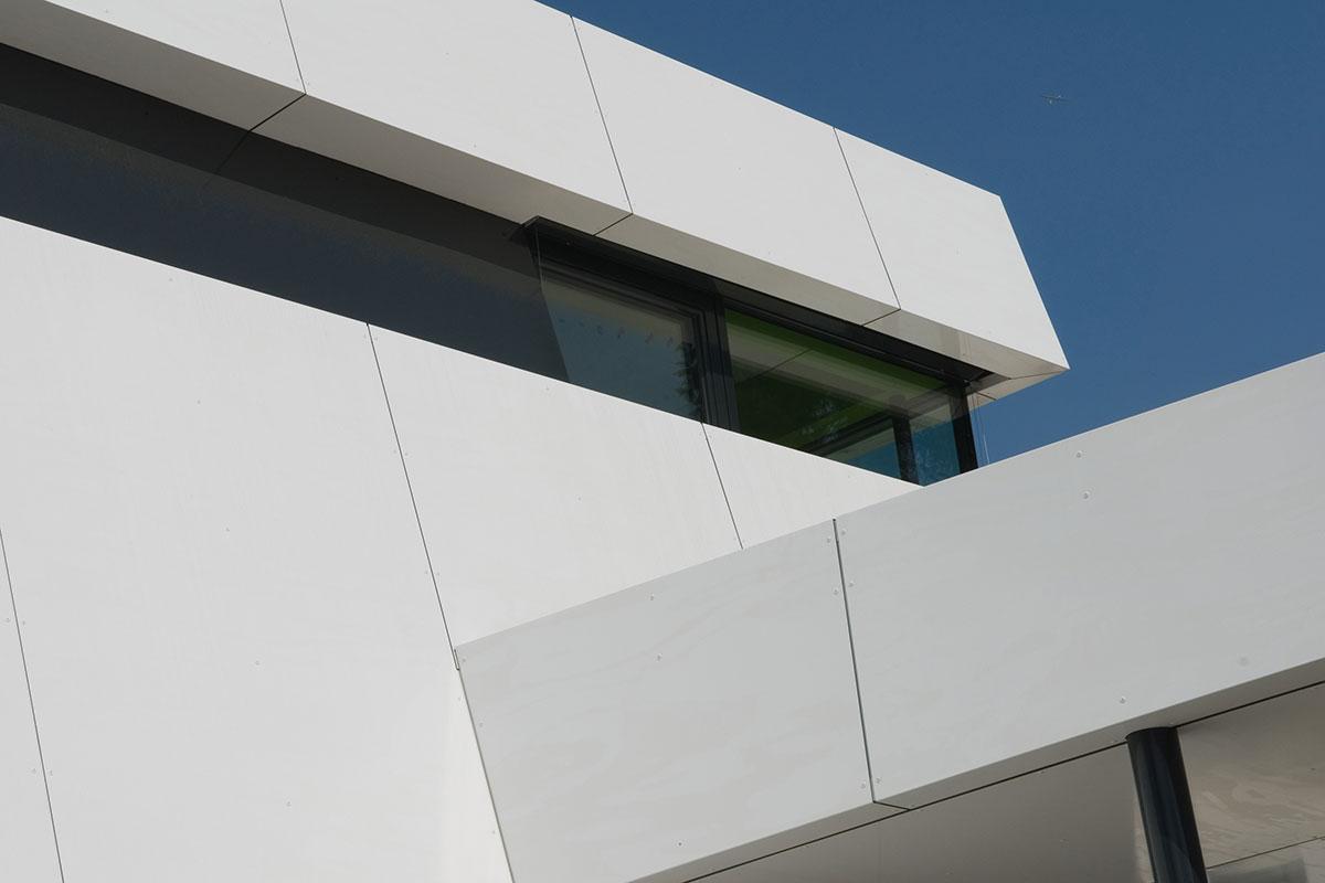 bedruckte Aluverbund Fassaden