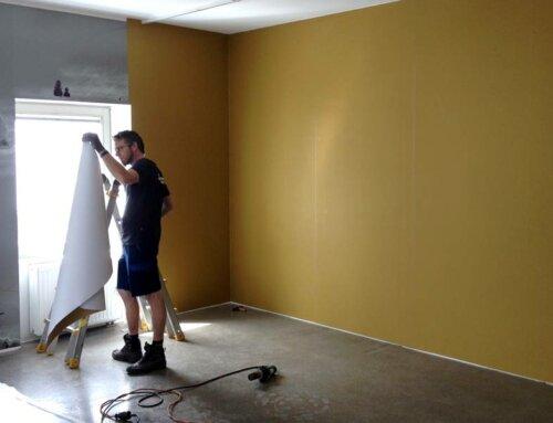 Großglockner Wandbeklebung – Goldrubbler