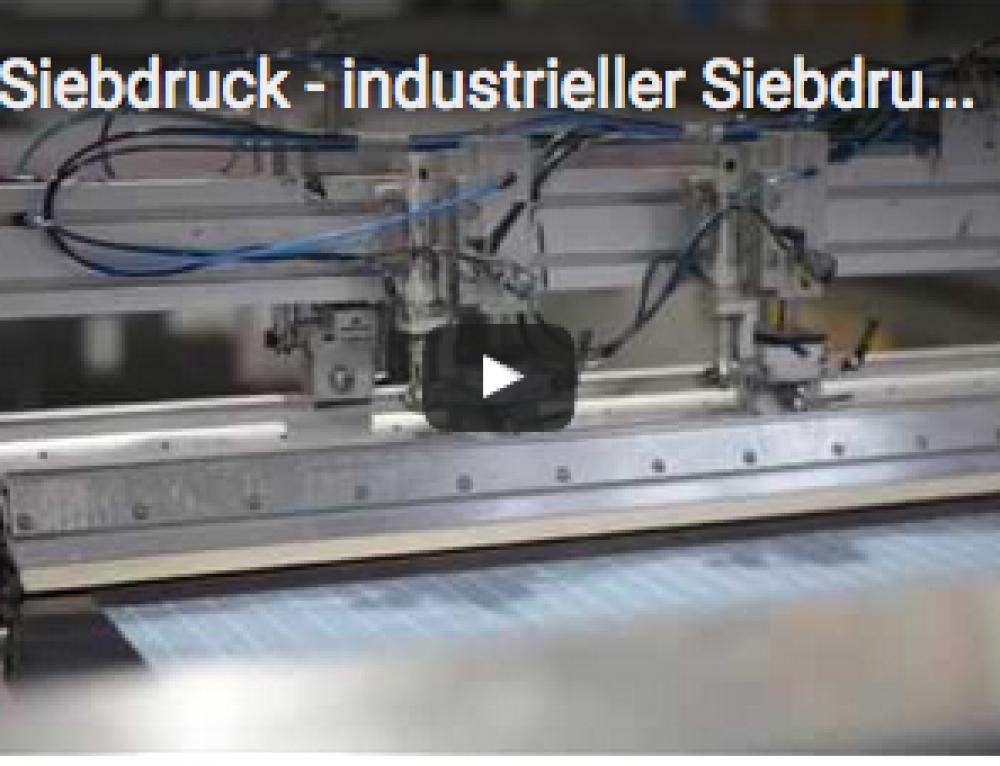 Video: So funktioniert Siebdruck
