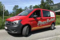 Pinzg Kas Mobil gegossene Fahrzeugfolie