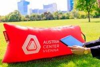 bedruckte sitzsaecke, bedruckte fatboys austria center vienna