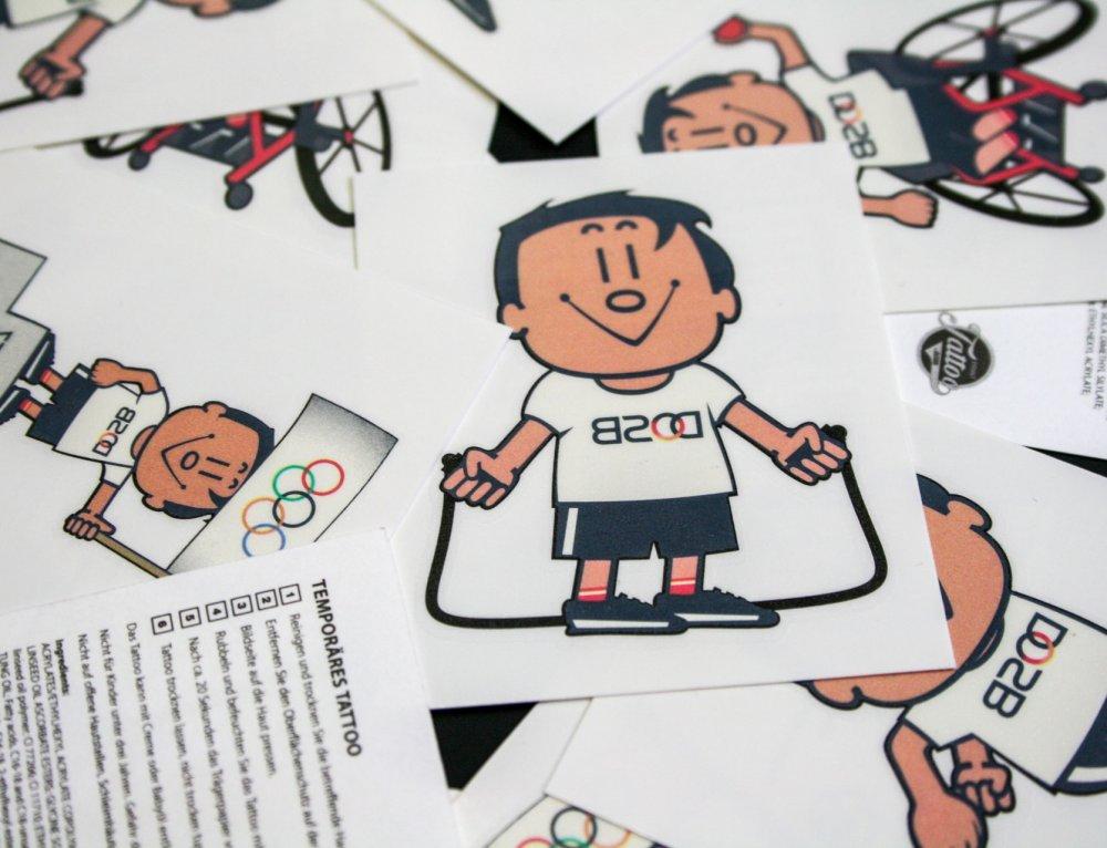 Custom Tattoos für den deutschen Sportbund