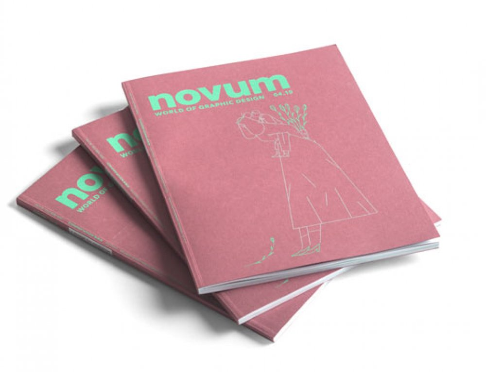 Siebdruck Cover Novum