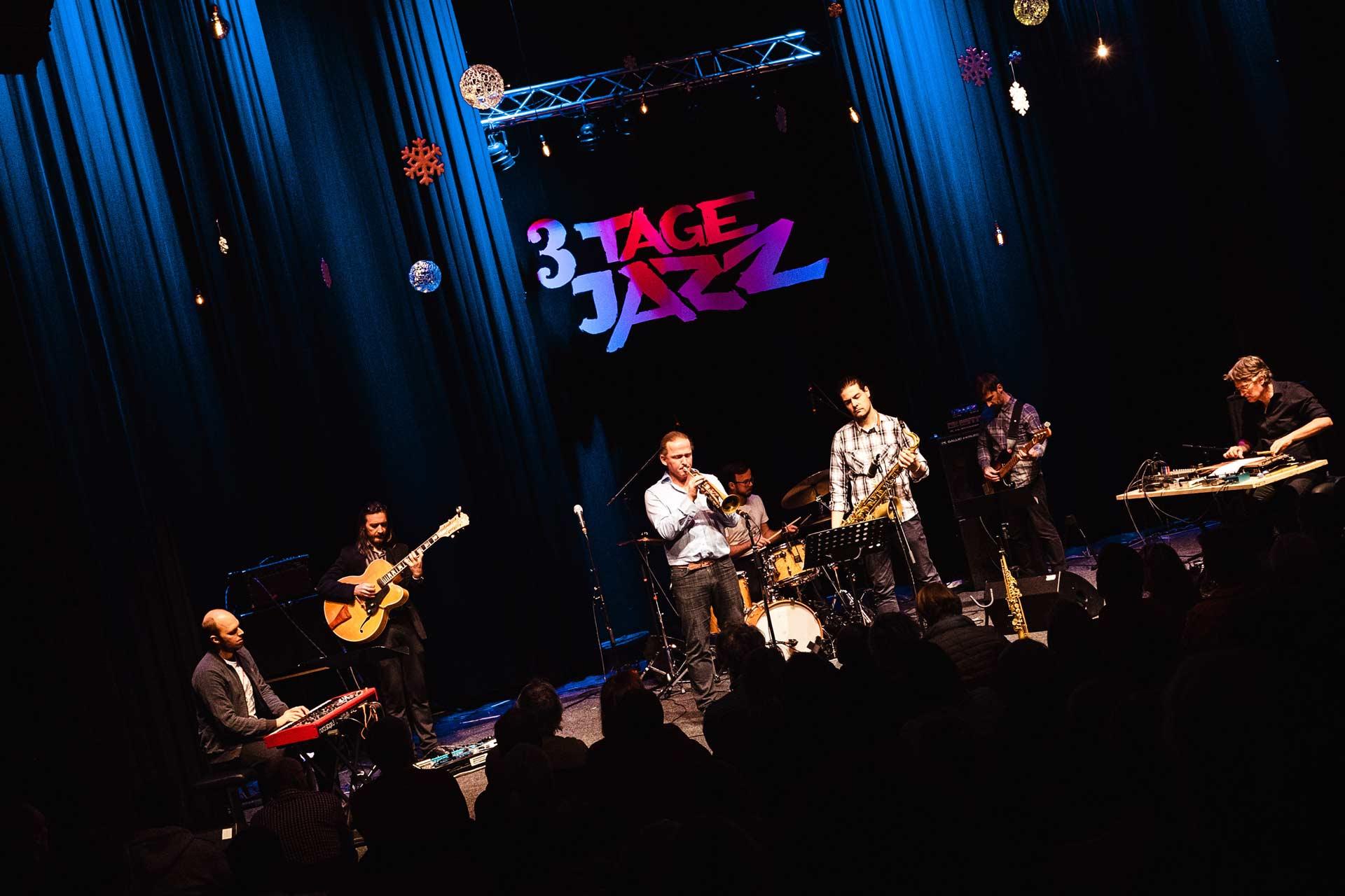 Bühnenschild 3-Tage Jazz