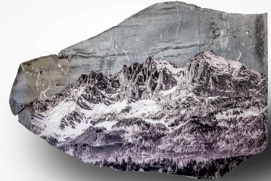 Fotodruck auf Sondermaterialien Stein