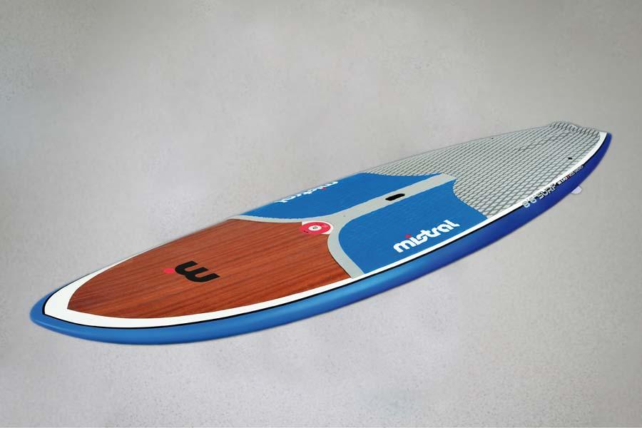Wassertransferdruck auf Surfboard