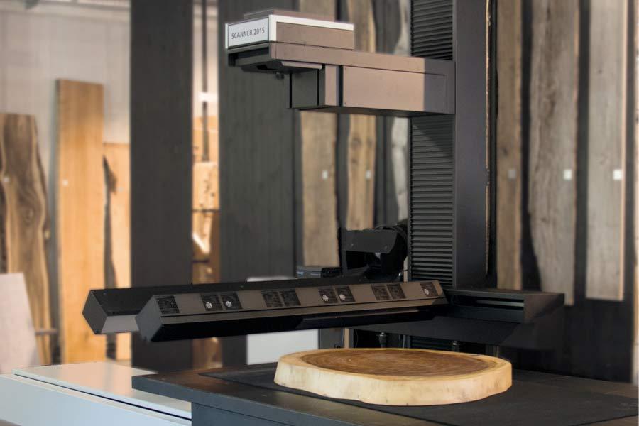 Großformatscanner Holz