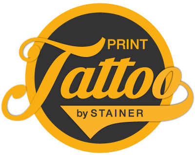 Logo Print Tattoo by Stainer